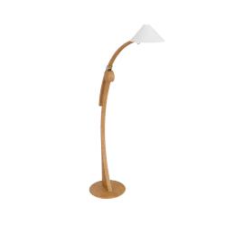 Domus Pollo Floor Lamp, beechwood