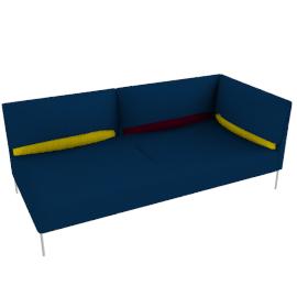 Undercover, modular left sofa