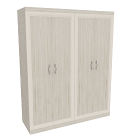 Ariston 4 Door Wardrobe