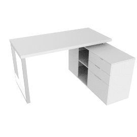 Moderno Study Desk Left
