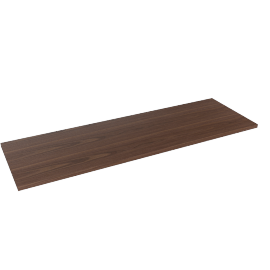 Blend Console Table Top, Walnut
