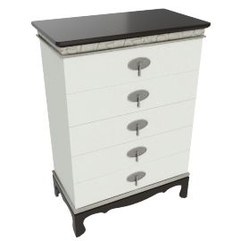 Lorenza 5-Drawer Chest of Drawers