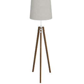 John Lewis Ethan Wood Floor Lamp
