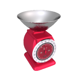 Typhoon Italian Job Spring Scales, Red