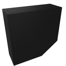 Modular Lighting Nukav, black structured