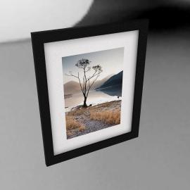James Bell - Buttermere Silence Framed Print, 54 x 44cm