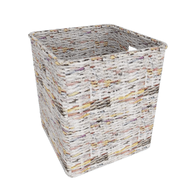 Recycled Newspaper Storage Basket, Large