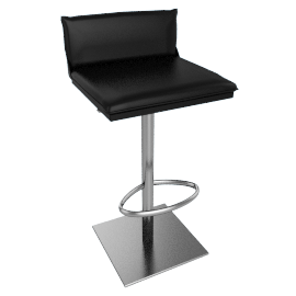 Bottega Stool, Black