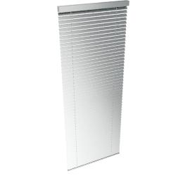 Metal Venetian Blind, Silver, W60cm