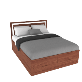Boxer Storage Bed, Kingsize