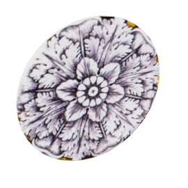 rosettes plates, set of 6 by fornasetti