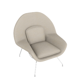 Womb™ Chair - Classic Boucle - Neutral