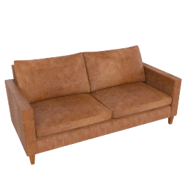 Bailey Large  Sofa, Lustre Cappuccino
