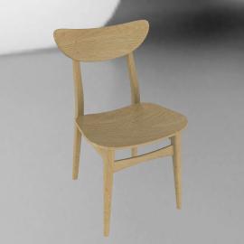 Ken Dining Chair, Oak