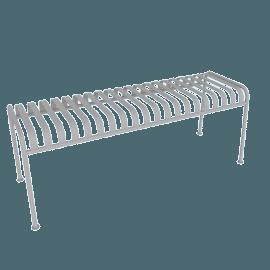 Palissade Bench, Sky Grey