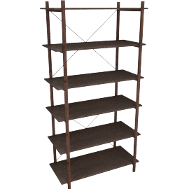 Gino shelving unit
