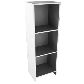 House by John Lewis Oxford 3 x 1 Shelf Unit