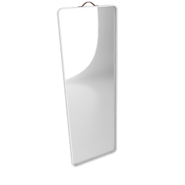 Norm Floor Mirror, White