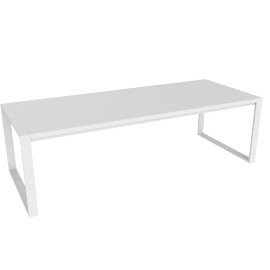Eos Communal Table, White