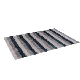 Soft Stripes Rug - 160x230 cms, Blue