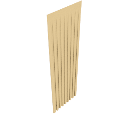 Plain Silk Pencil Pleat Curtains, Gold, W168 x Drop 228cm