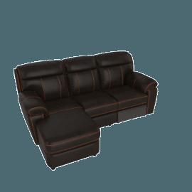 Chaplin Corner Sofa Left with Recliner