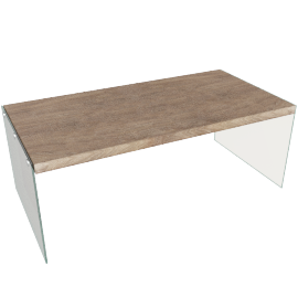 Newark Coffee Table, Grey Oak