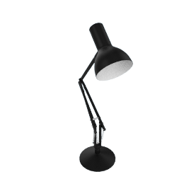 Type 75 Task Lamp, Jet Black