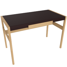 Risom Desk, Oak
