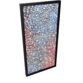 Starry Night Shadow Box - 40x3.5x80 cms