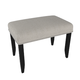 Jennifer Upholstered Dressing Table Stool