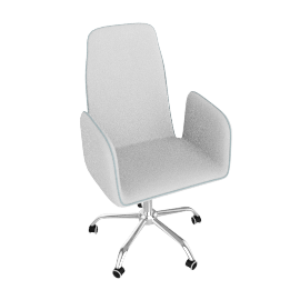 Trendy Medium Back Chair