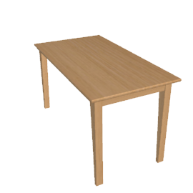 Piran Dining Table, Beech