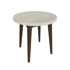 Gasha Round End Table