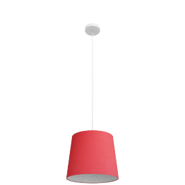 Dave Pendant Lamp, Red