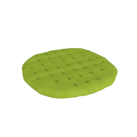 Mabel Round Cushion - 100x100 cms, Green