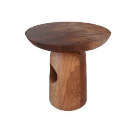 Hew Side Table, Shape E, Walnut