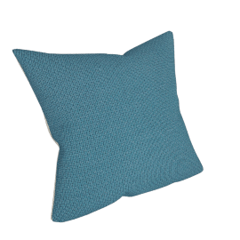 Luce Cushion, Lake Blue