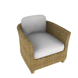 Nomad Wicker Armchair