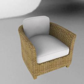 Nomad Wicker Armchair