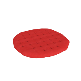 Mabel Round Cushion - 100x100 cms, Red