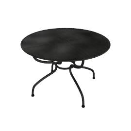 Royal Garden Elegance Circular Garden Table