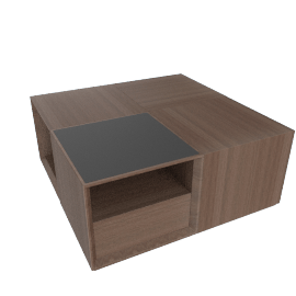 Eterno Coffee Table - Walnut