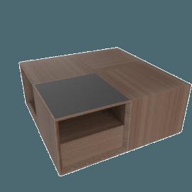 Eterno Coffee Table - Walnut