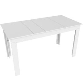 Lollygagger Picnic Table, White