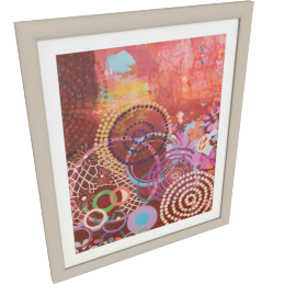 Textile Circles Frame