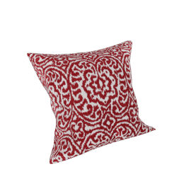 Florentine Filled Cushion 45x45 cms, Red