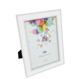 Ella Photo Frame - 5x7 inches, White