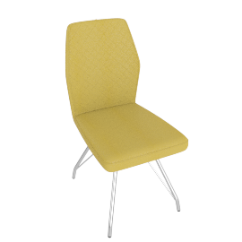 Alice Dining Chair, Yellow