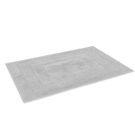 Aristocrat Plush Bathmat - 60x90 cms, White